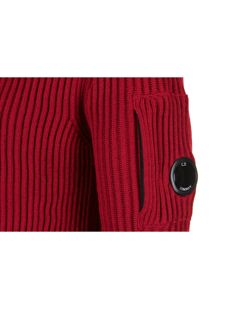 CP Company 07CMKN155A Knitwear Donkerrood Amsterdam