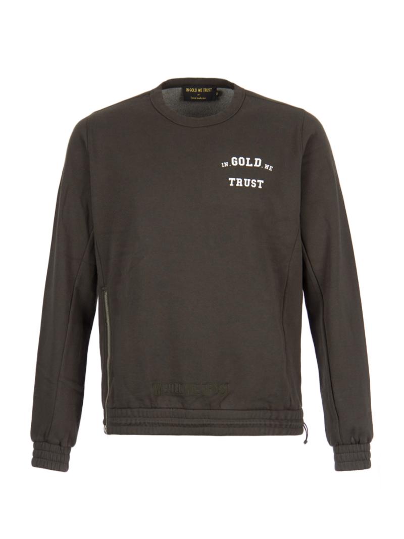 DAMES GOLD SWEATER   79770101 WE Fashion