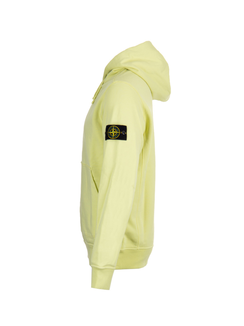 Stone Island 701562851 V0031 Geel Sweater Hoodie Amsterdam